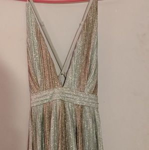 Beautiful glittery maxi dress